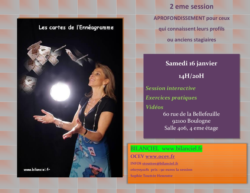 rencontre enneagramme